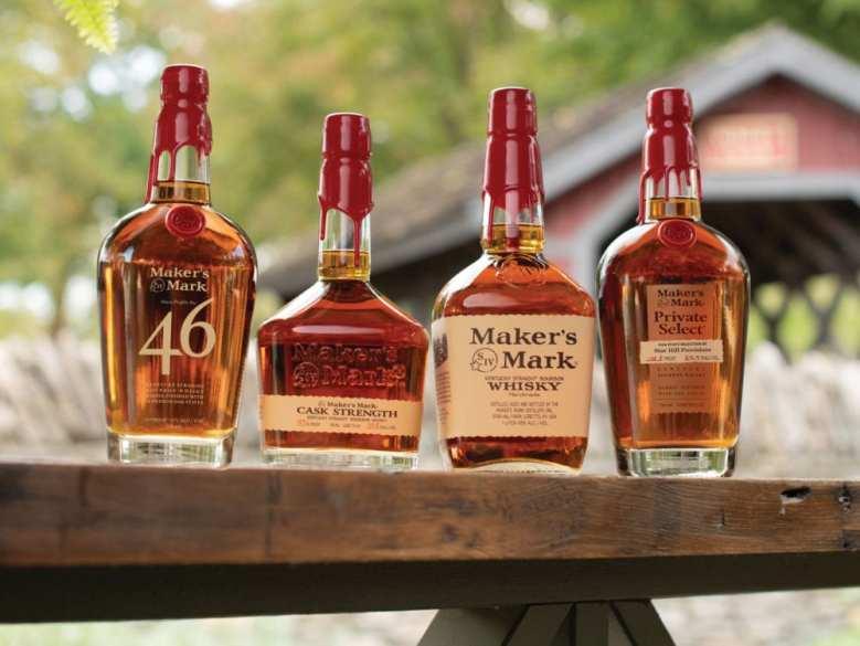 Maker's Mark bourbon family