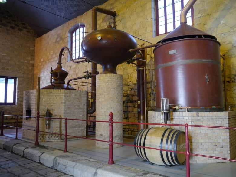 old Brandy de Jerez stills