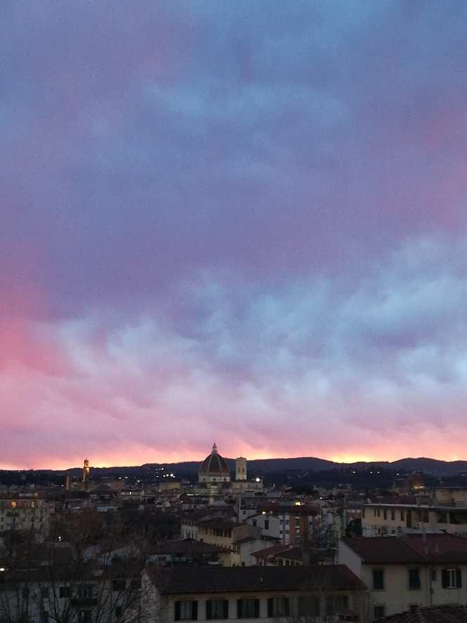 Florence sky after rain
