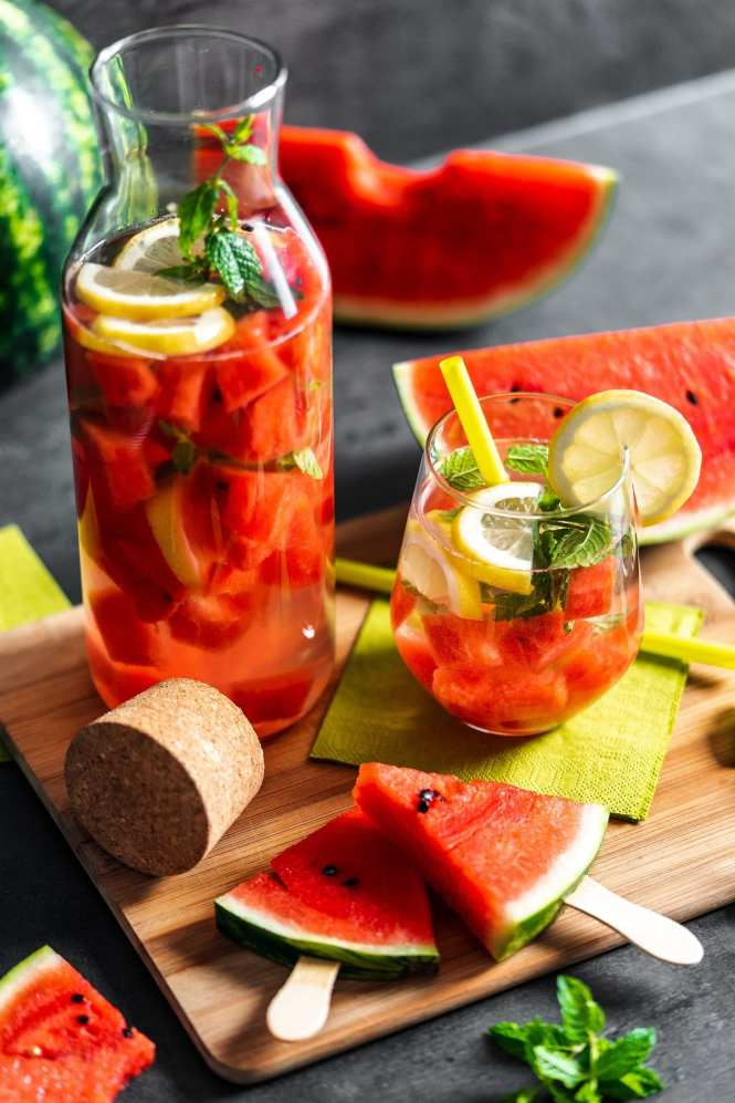 Summer watermelon punch