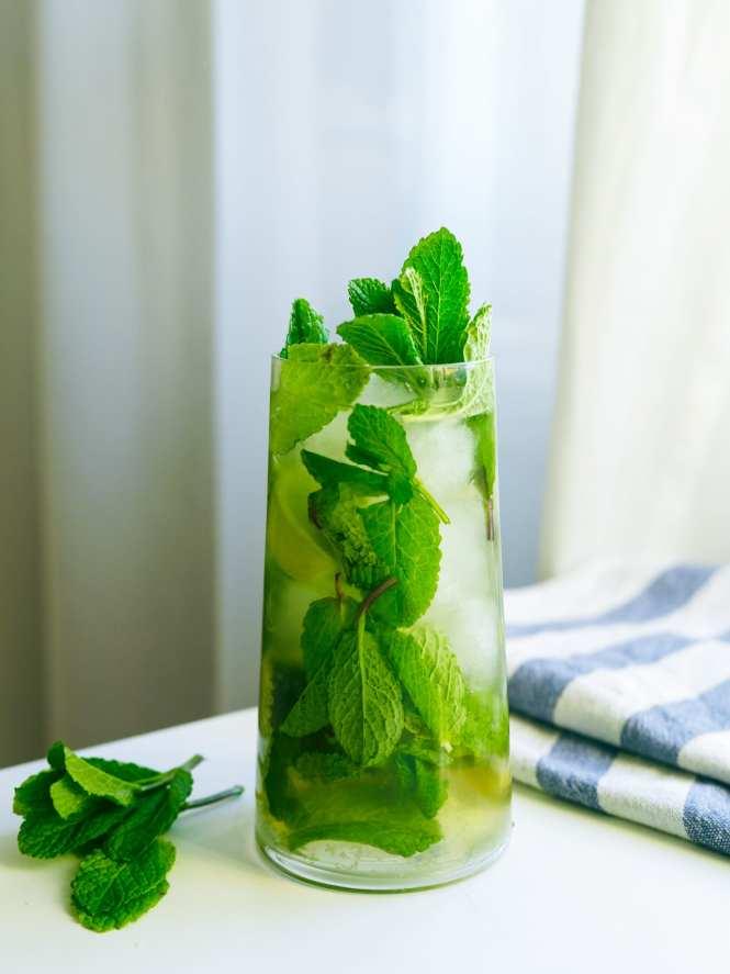 Tropical Mojito cocktail