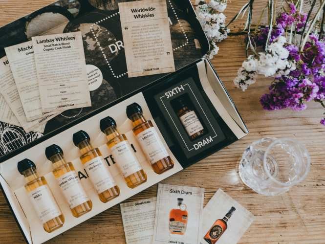 The Dram Team subscription box