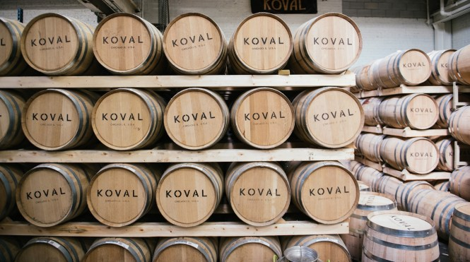 koval distillery casks