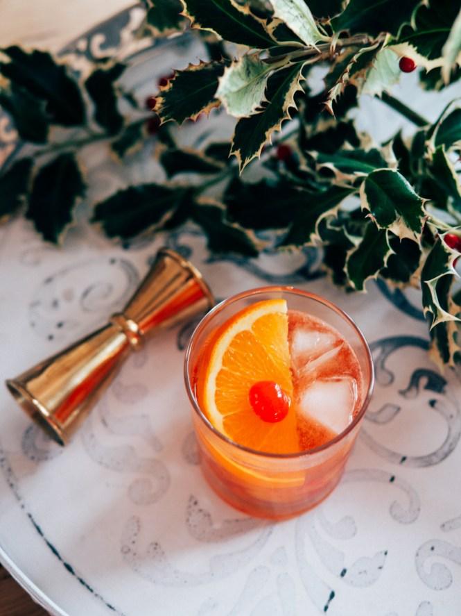 Larder old fashioned cocktail