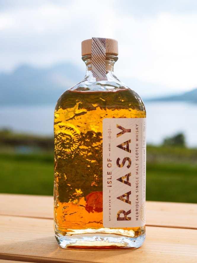 Isle of Raasay Single Malt Scotch bottle