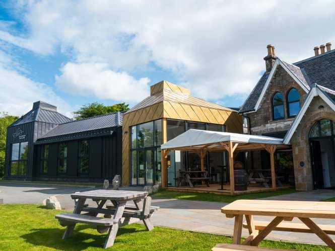 Isle of Raasay distillery hotel