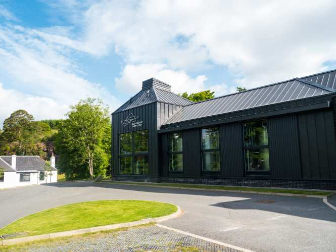 Isle of Raasay distillery building