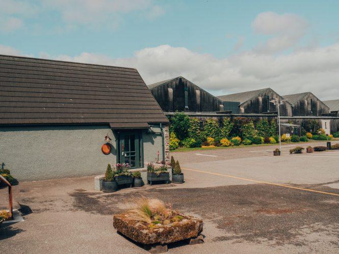 Distillery warehouses