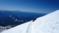 High on Rainier via Disappointment Cleaver