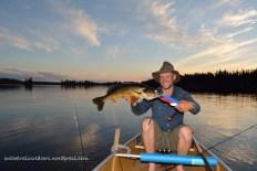 Trophy walleye Conmee Lake