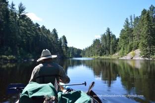 Canoe wilderness travel