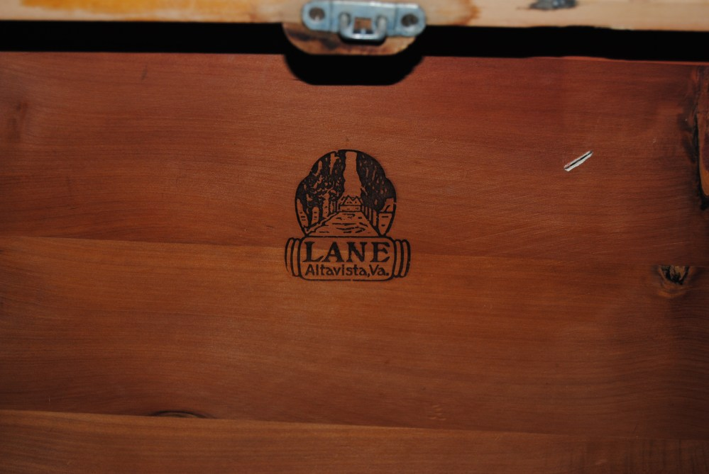 On The Upcycle Revival: Vintage 1934 Lane Waterfall Art Deco Hope Chest (4/6)