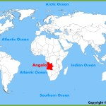 Angola Location On The World Map