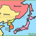 Map Of Northeast Asia Northeastern Asia