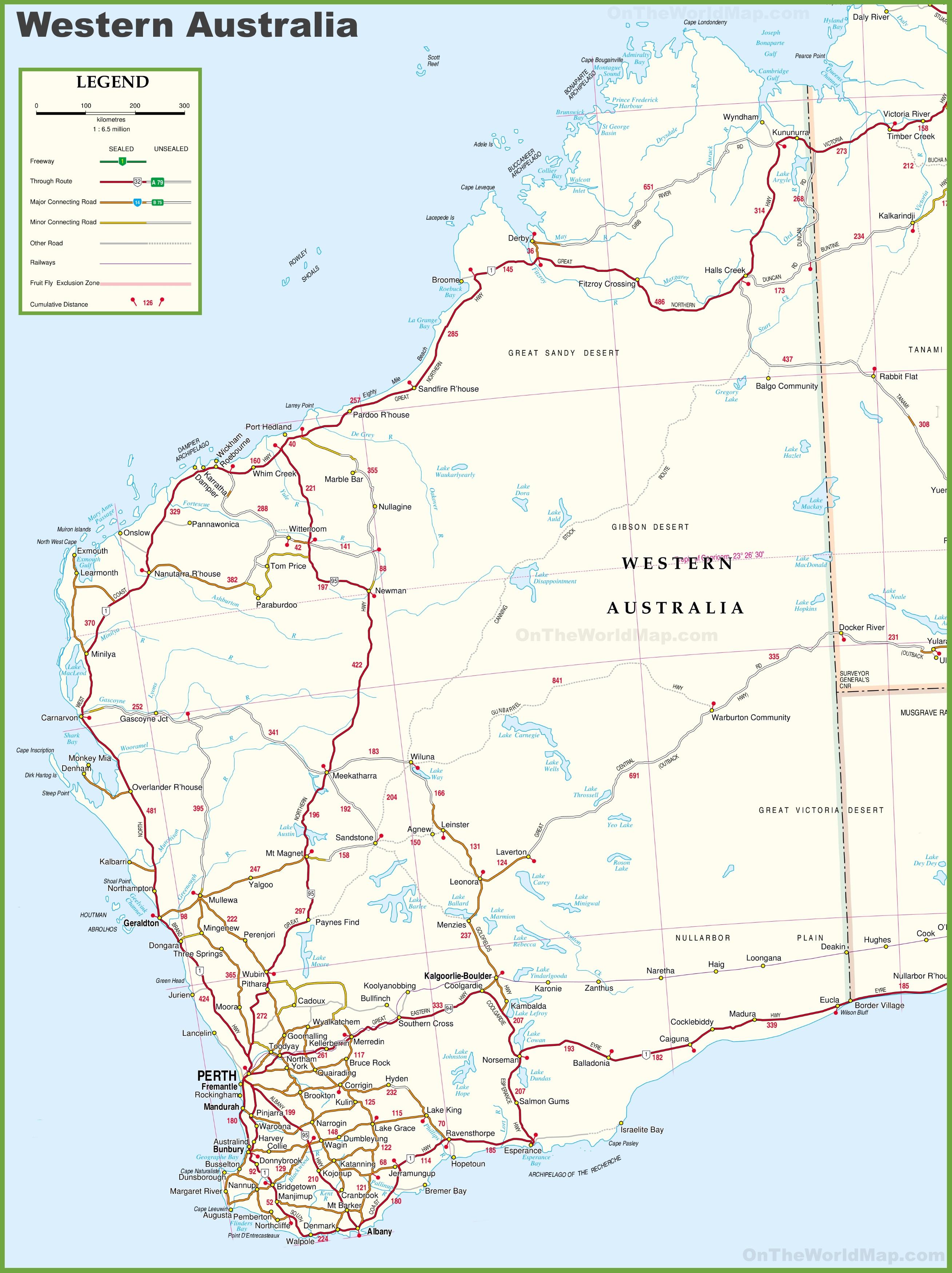 The Best Printable Australia Map