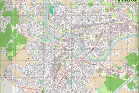 large detailed of villach map » Another Maps [Get Maps on HD]   Full ...
