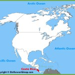 Costa Rica Location On The North America Map