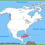 Cuba Location On The North America Map