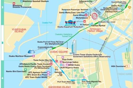 osaka bay area map » Full HD MAPS Locations - Another World ...