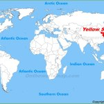 Yellow Sea Maps Maps Of Yellow Sea