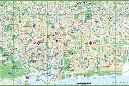 Large Detailed Tourist Of Paris With Metro Map Full HD MAPS - Large map of paris france