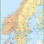 Sweden Maps Maps Of Sweden