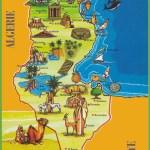 Tunisia Attractions Map