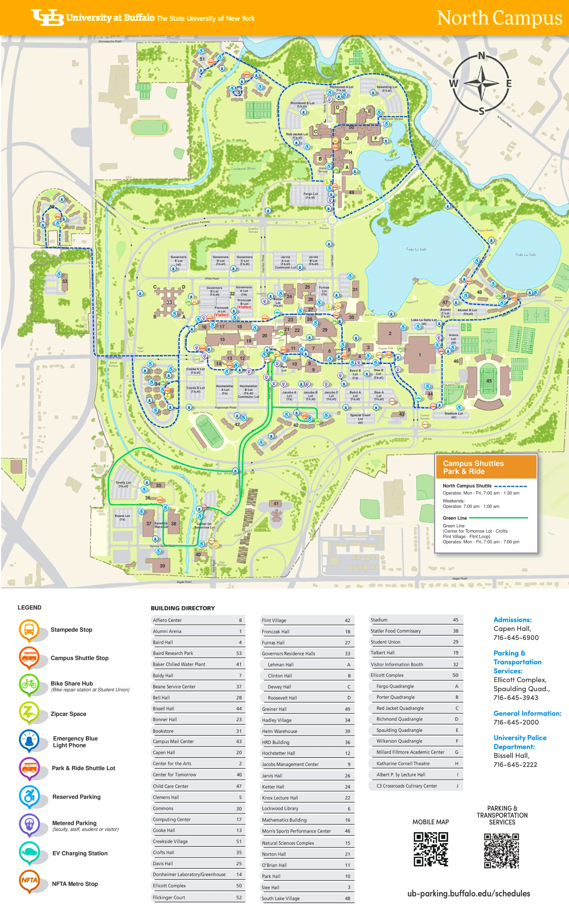 geneseo parking map geneseo ny geneseo college geneseo campus map ...