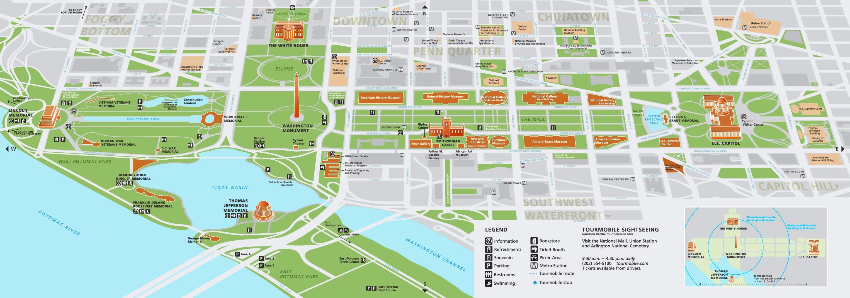 Washington D C Capitol Hill Map