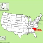 South Carolina Location On The U S Map
