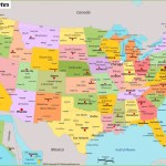 Usa Map Maps Of United States Of America Usa U S
