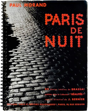 """""""Paris by Night"""" by Brassia. Photo books for auction at Christies, St. James's London on 31 May 2007. Lot 41."""
