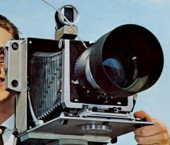 Linhoff 5x7 view camera