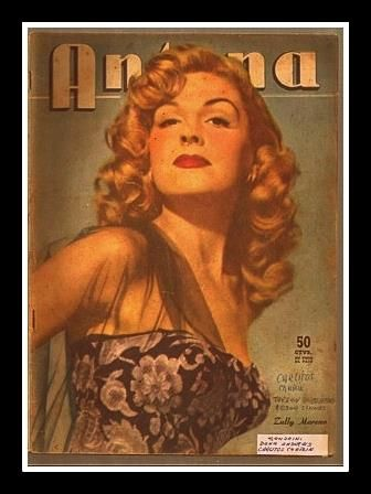 Annemarie Heinrich (c.1940s) Cover portrait of Zully Moreno for Antena