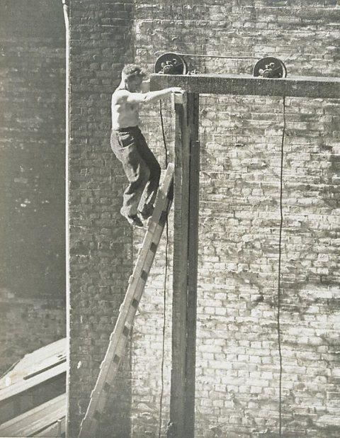 Eric Keast Burke (c.1940) Concrete Hoist