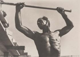 Eric Keast Burke (c.1940) Man with Hod