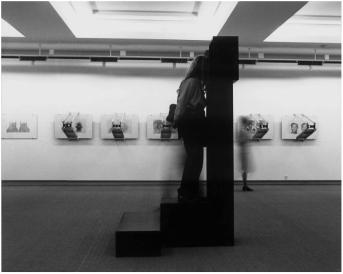Alfons Schilling; Viewers, Exhibition at Kunsthaus Zürich, 1979