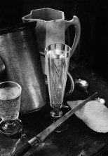 Boris Smelov (1970) Still life with two glasses