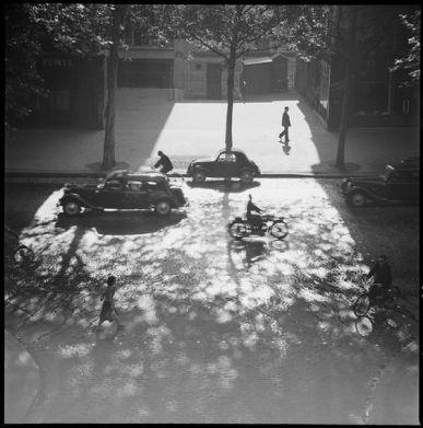 Marcel Bovis (20 June 1954) Paris, boulevard Beaumarchais.