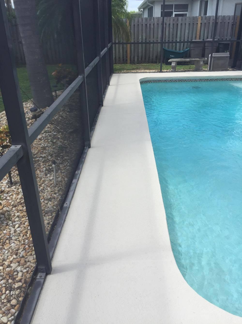 Pool Deck Restoration, Apollo Beach FL