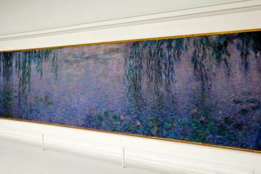 Claude Monet's Waterlillies at the Musée de L'Orangerie