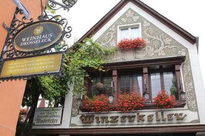 A Weinhaus (wine house!)