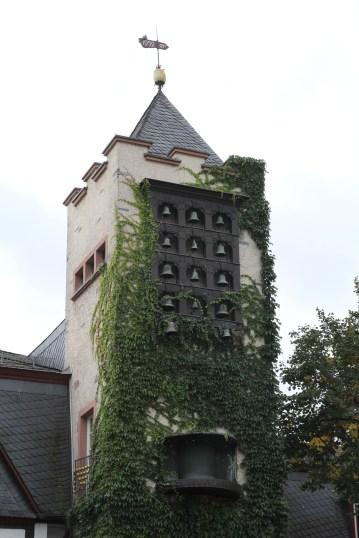 Church bells in Rüdesheim