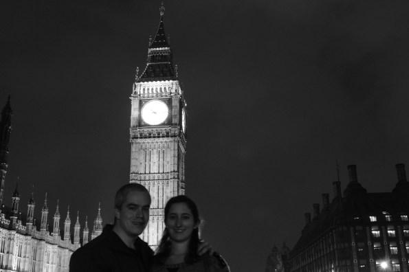 Big Ben at night