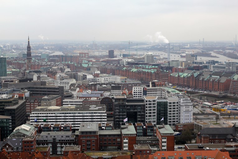 View from atop St. Michael's Church