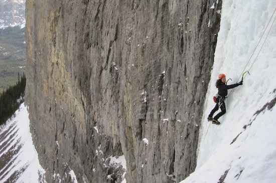 private ice climbing guide