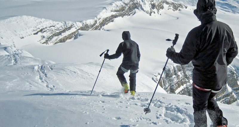 guided ski touring