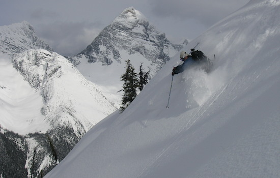 rogers pass skiing
