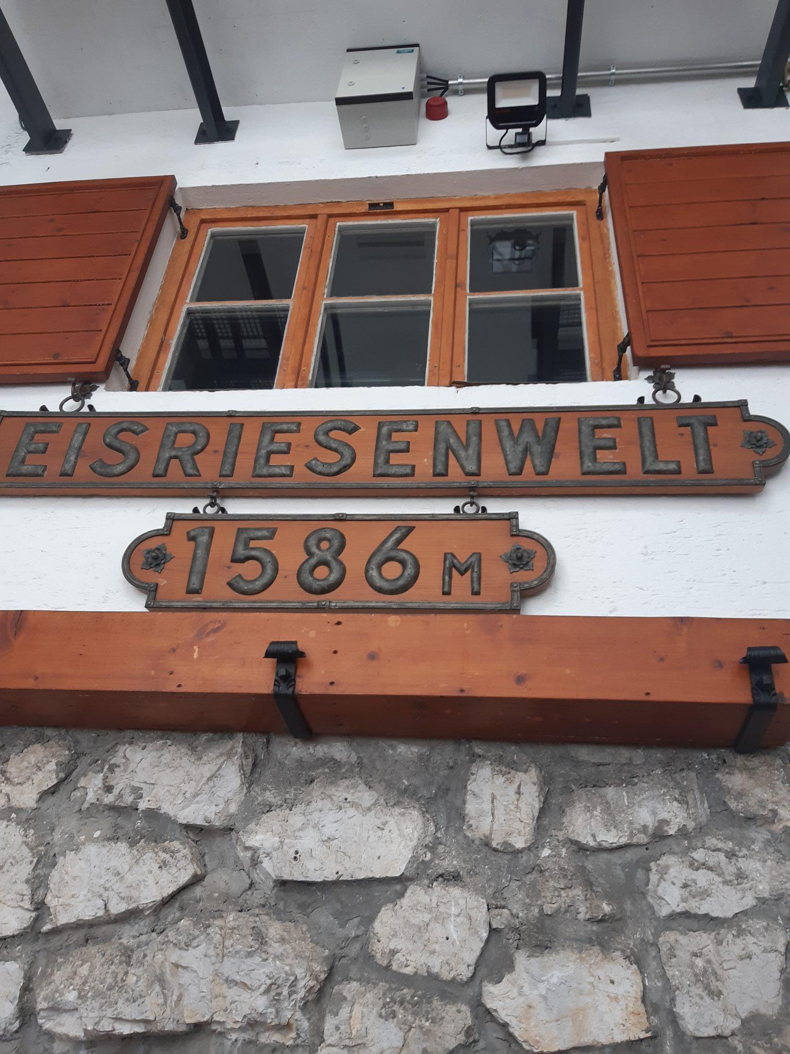 Höhe 1586 Eisriesenwelt Seilbahn