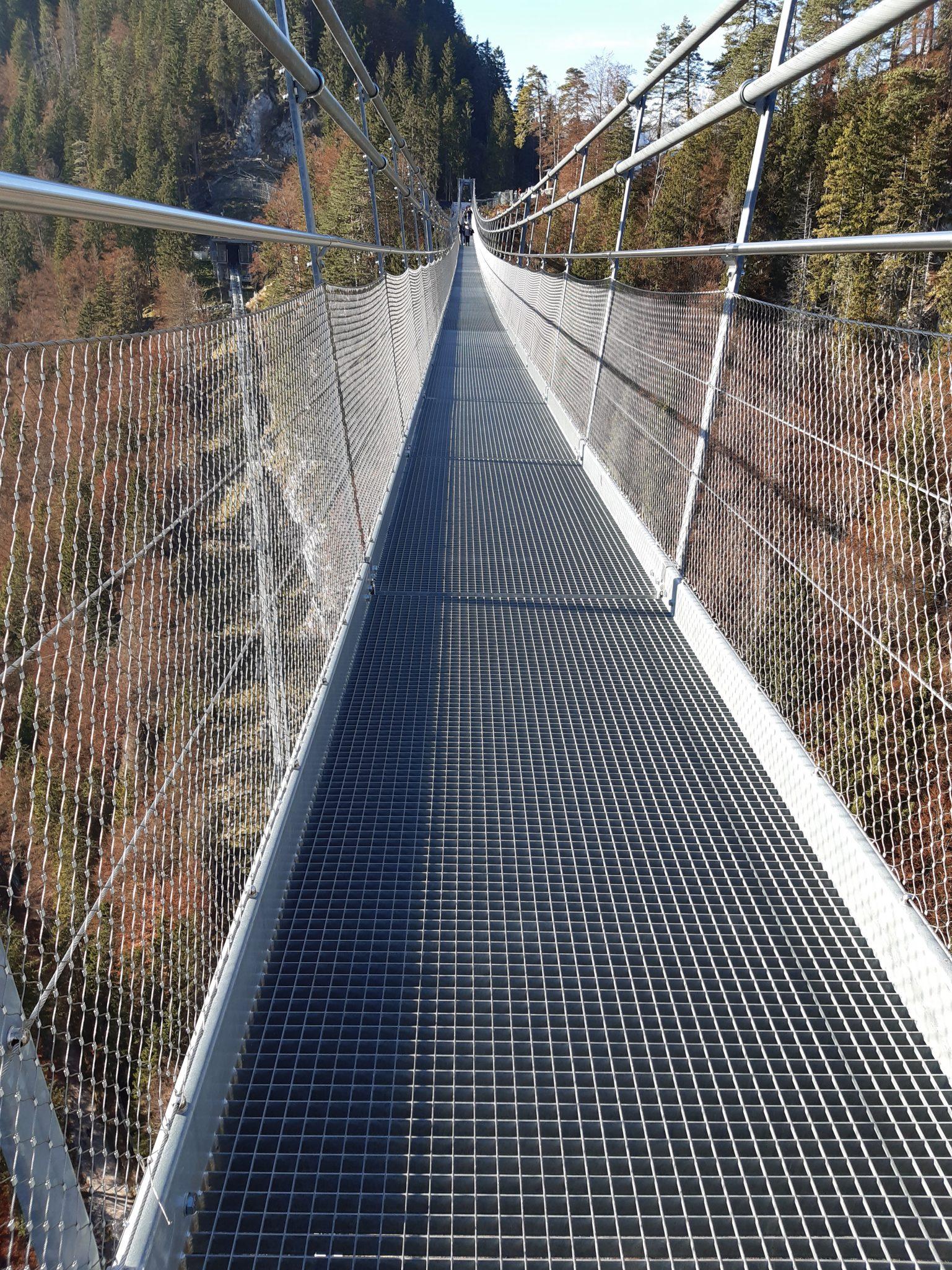 Fußgängerhängebrücke Reutte